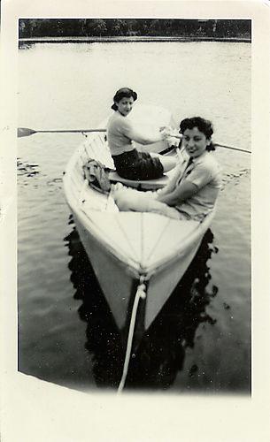 Friends in a boat