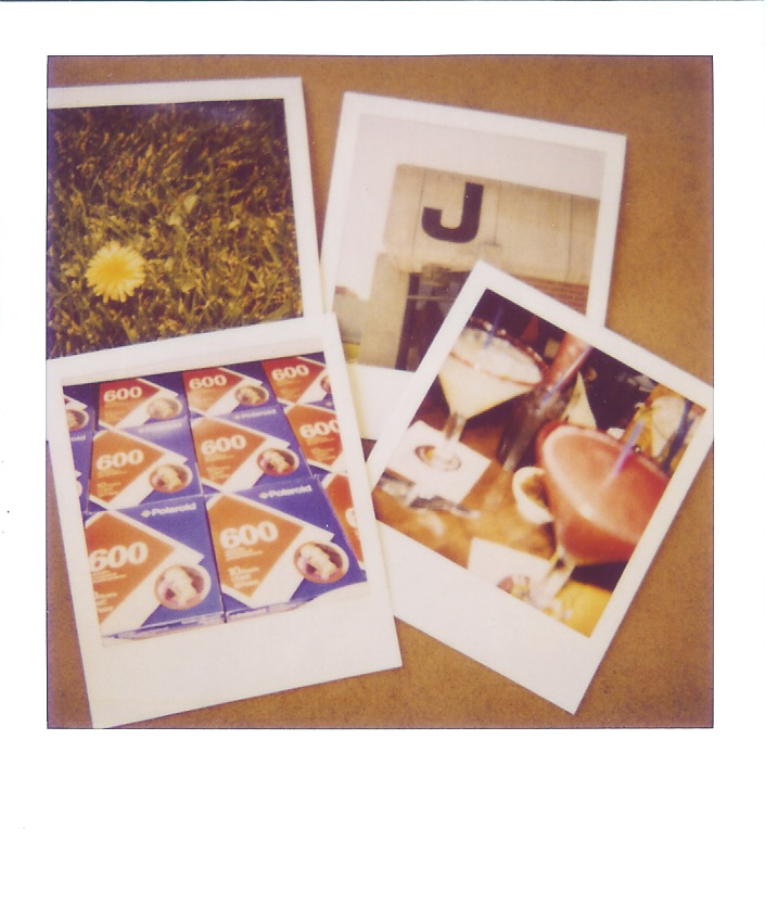 Polaroid collaboration with jen