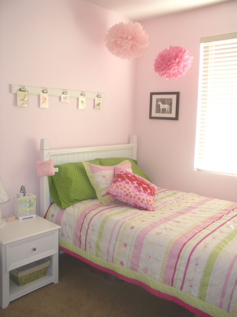 what's inspiring me - my daughter + son's newly decorated room
